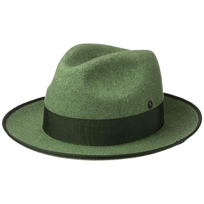 immagini dettagliate nuovo massimo disponibilità nel Regno Unito Cappellishop Cappello da Caccia con Bottone Laterale Verde Scuro ...