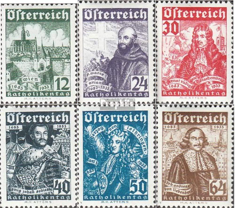 Prophila Collection Austria 557-562 (Completa.edición.) Sonderstempel 1933 Sello benéfico (Sellos para los coleccionistas)