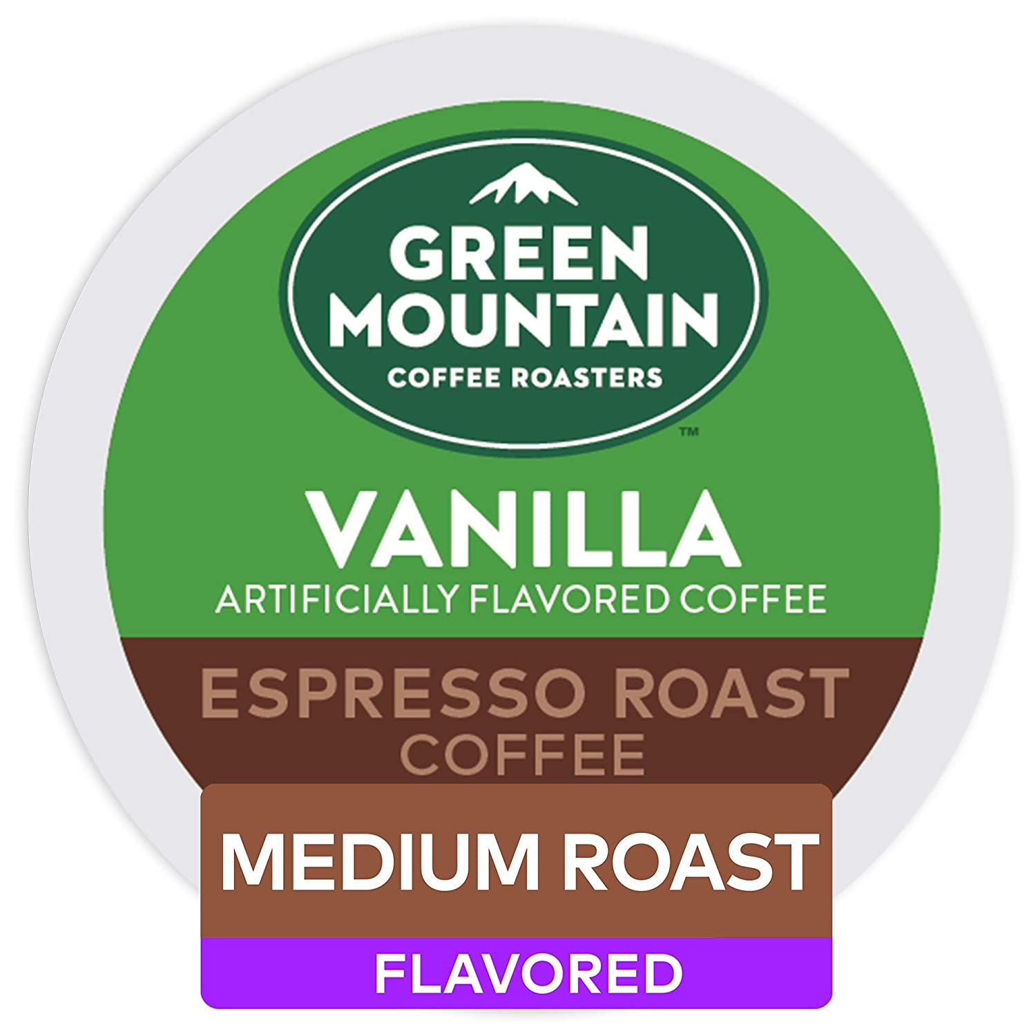 Green Mountain Coffee Roasters, Vanilla Espresso Roast, 48 Count