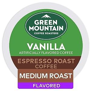 Green Mountain Coffee Roasters, Vanilla Espresso Roast, 48 Count