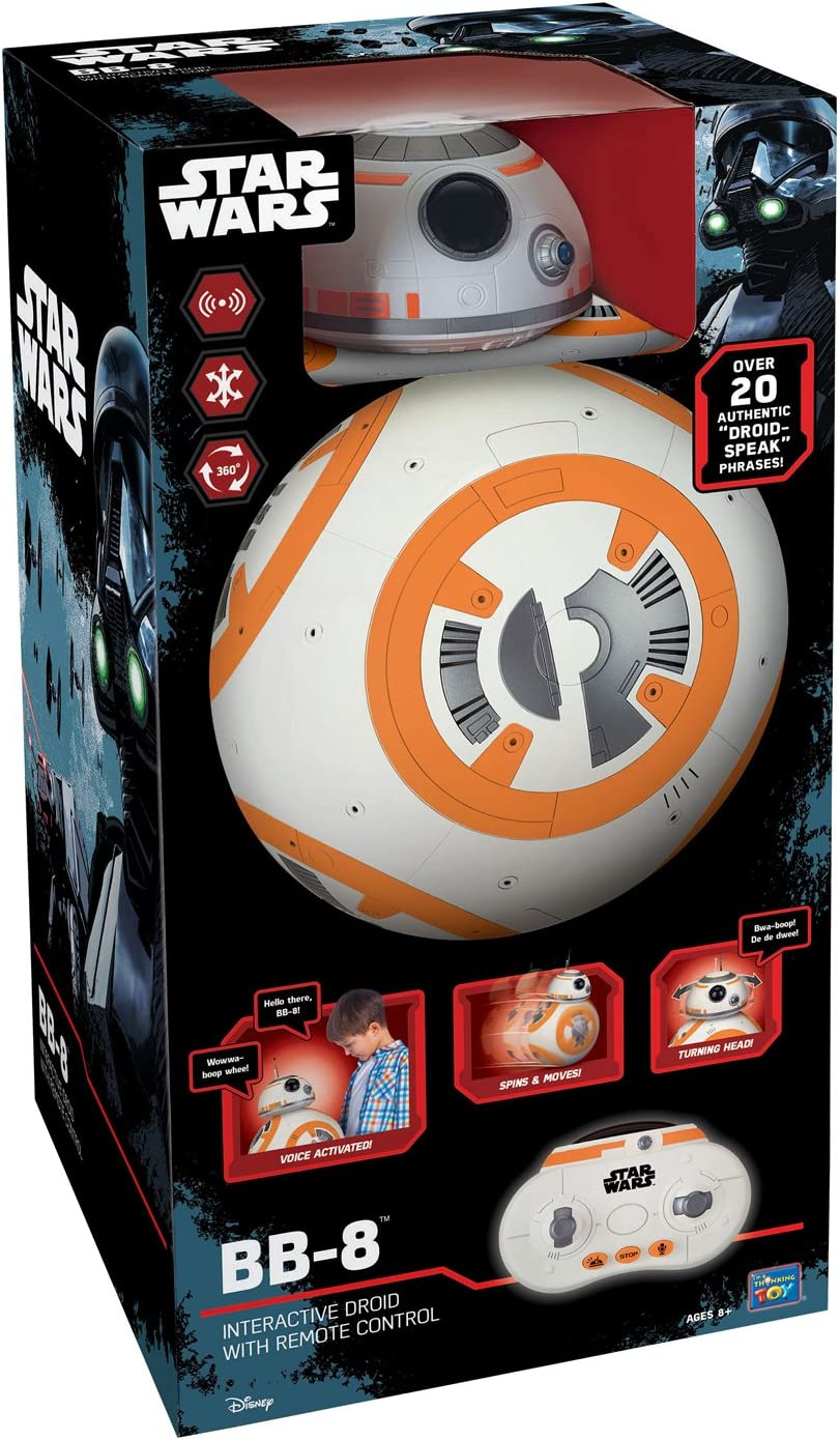 52 cm Star Wars Interactive Bb-8 Droid With Remote Control