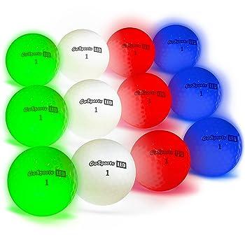 GoSports Light Up LED Golf Balls