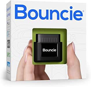 bouncie - GPS Location - Accident Notification - Route History - Speed Monitoring - GeoFence - Roadside Assistance - Family or Fleets - No Activation Fees - Cancel Anytime