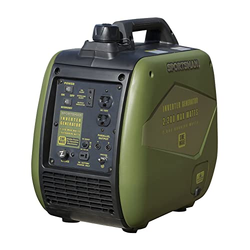 Buffalo Tools Sportsman 2000 Watt Inverter Generator – CARB Approved