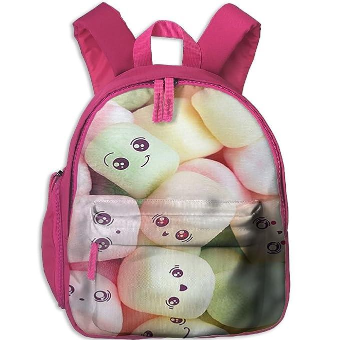 Amazon.com: Marshmallow diferentes cara escuela bolsa de ...