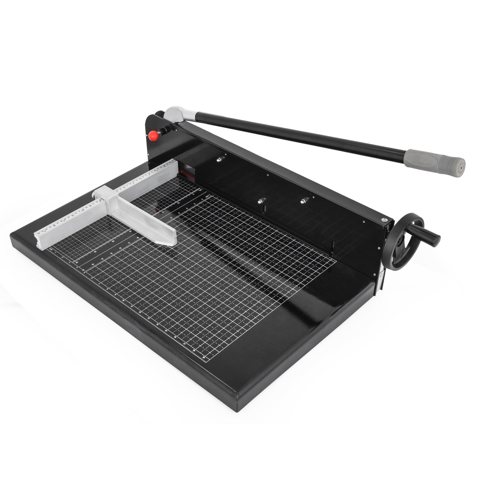 Mophorn Paper Cutter 19Inch A2 Commercial Heavy Duty Guillotine Trimmer 300 Sheets 45HRC Hardness Paper Trimmer Metal Base Desktop Stack Cutter for Home Office (A2, 19Inch)