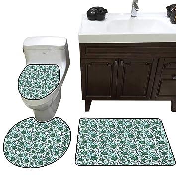 asiatique 3 pièces Ensemble de tapis de WC Mystical ...