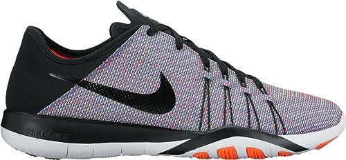 7d3a8467e57d Image Unavailable. Image not available for. Colour  Nike Women s Free TR 6  Print Training Shoe Black Total ...