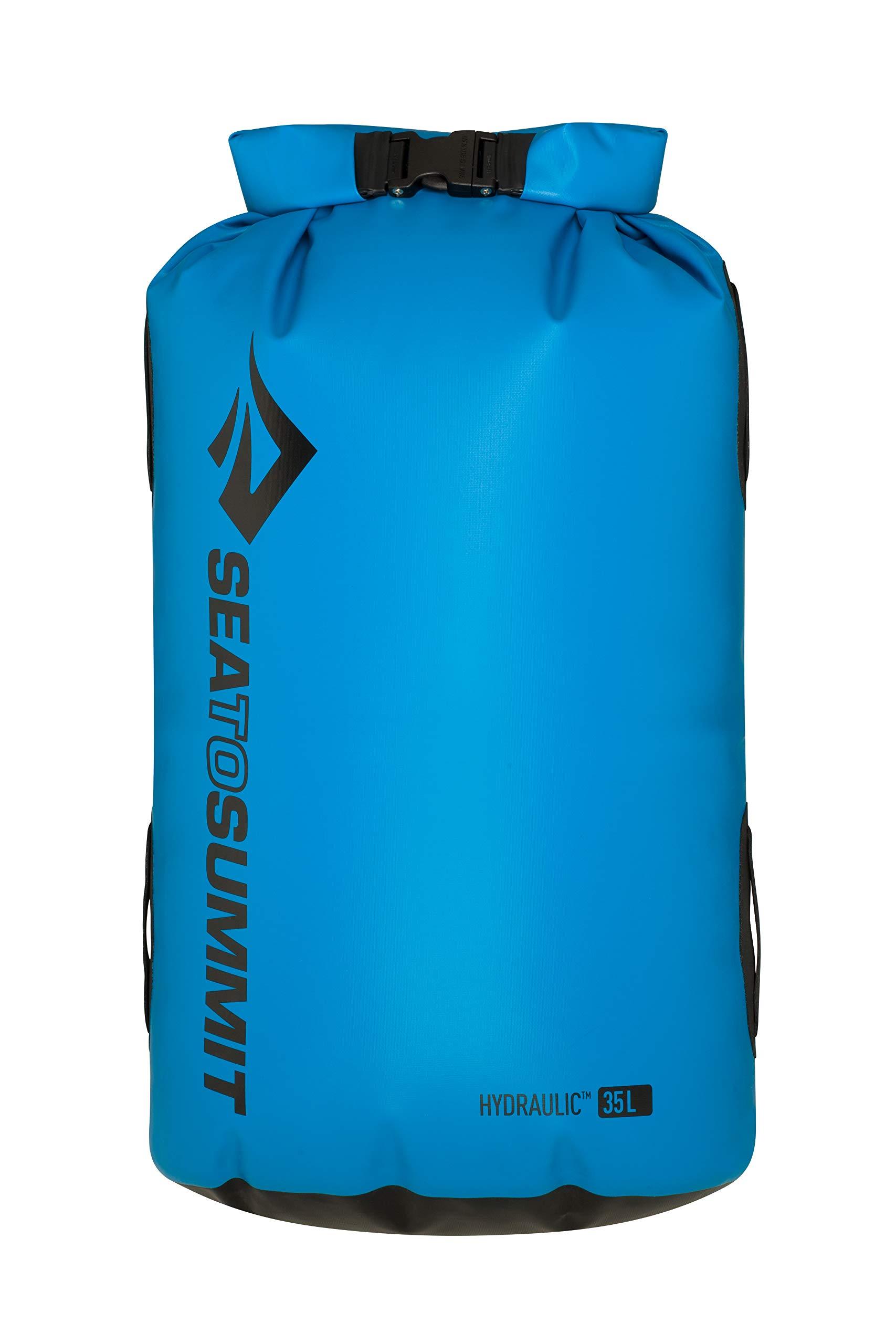 Sea to Summit Hydraulic Dry Bag, Blue, 35 Liter by Sea to Summit
