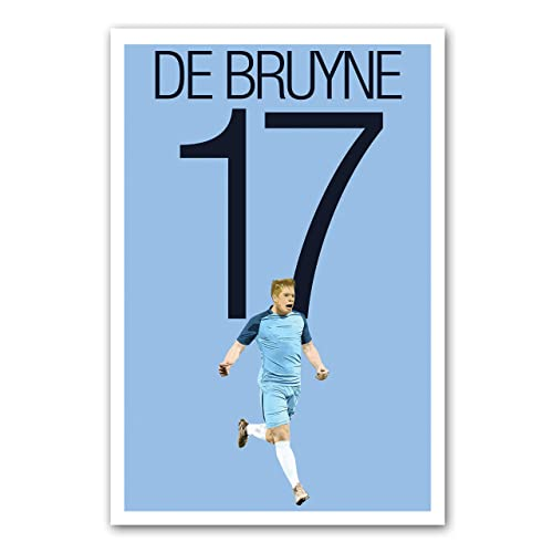 Kevin De Bruyne Man City Art Print
