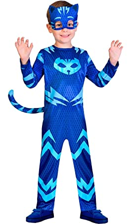 Childrens Size PJ Masks Catboy Costume Medium (5-6 years)