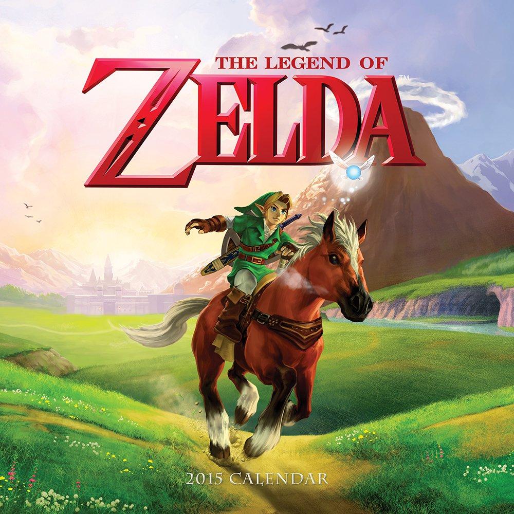 Legend Zelda 2015 Wall Calendar