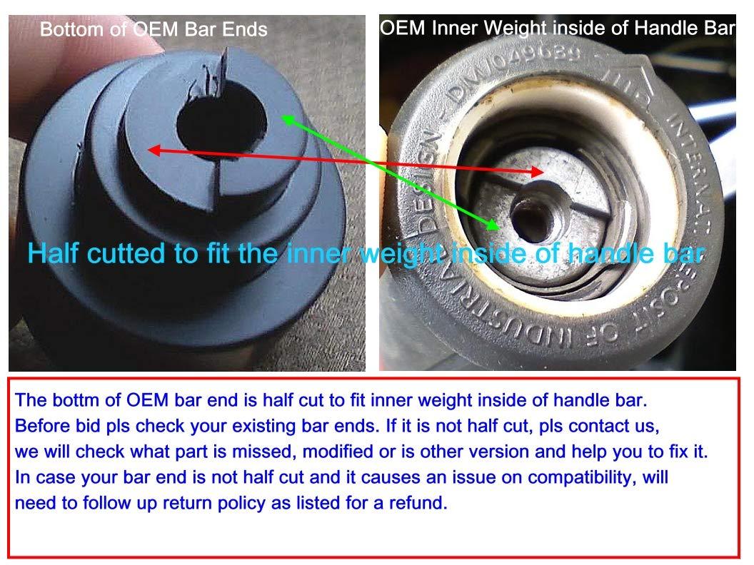 Amazon.com: Honda CBR600RR CBR900RR CBR929RR CBR954RR CBR1000RR CB599 CB919 BAR ENDS Red: Automotive