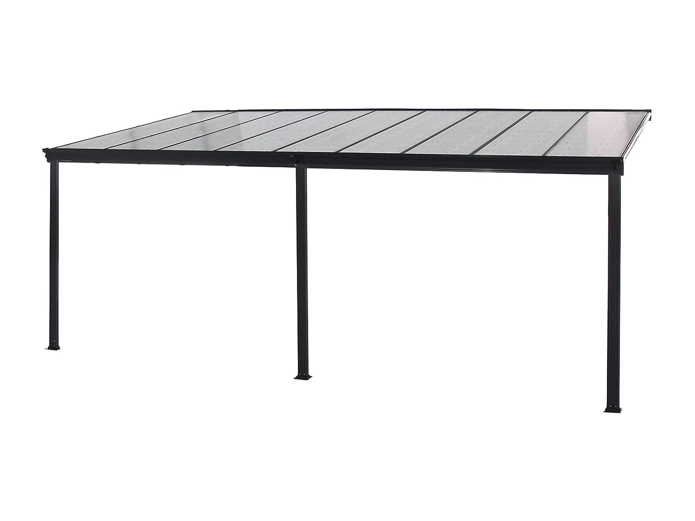 Inkl Terrassen/überdachung anthrazit Home Deluxe Ma/ße: 618 x 303 x 226//278 cm komplettem Zubeh/ör verschiedene Gr/ö/ßen