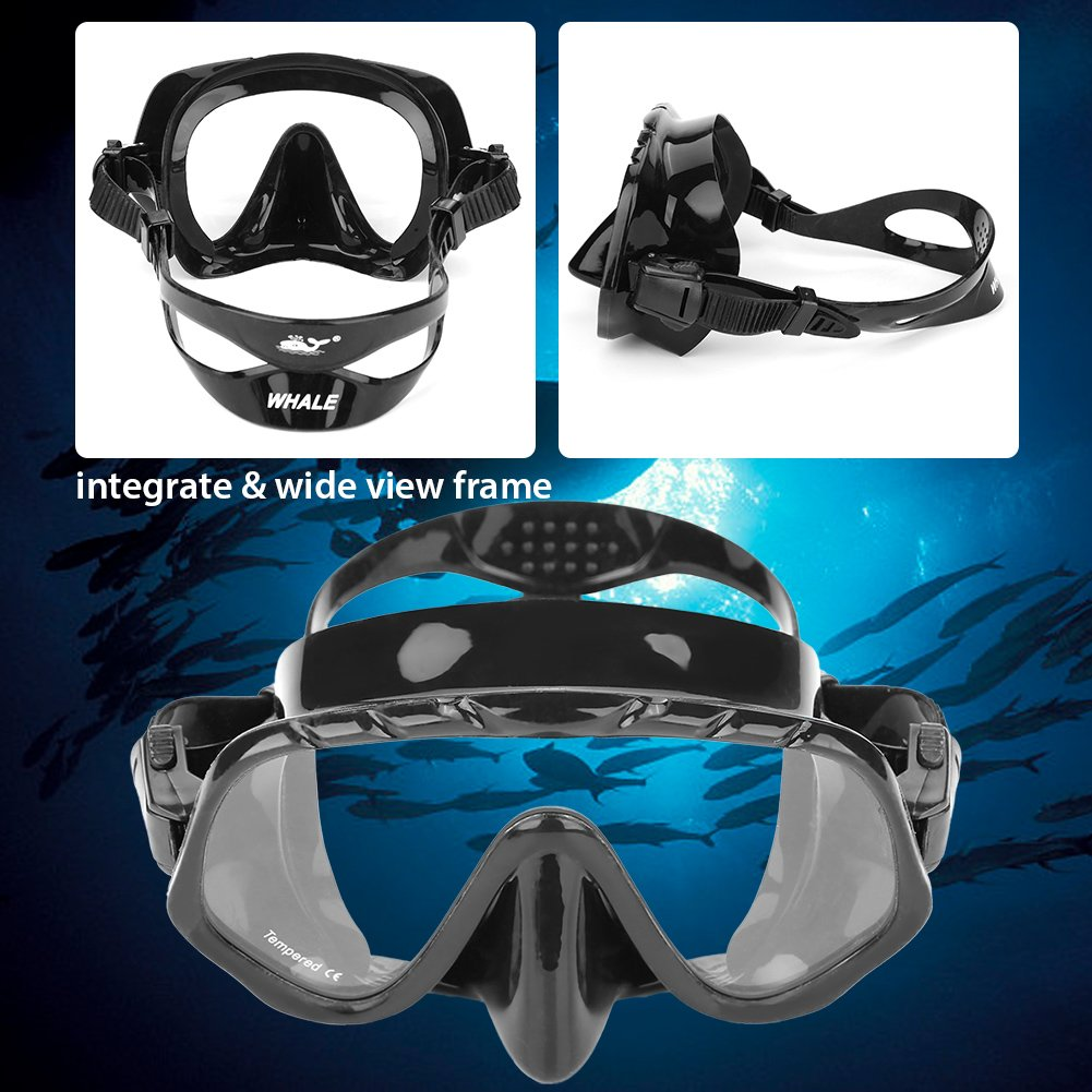 e2c4ecbf12f1 Amazon.com   T-best Whale Scuba Diving Mask Electroplated Anti-Fog Anti-UV  Snorkeling Goggles Diving Glasses Scuba Eye Protector   Sports   Outdoors