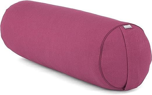 Aa149g gris clair en toile coton tissu Yoga Bolster Housse De Coussin Taille personnalisée