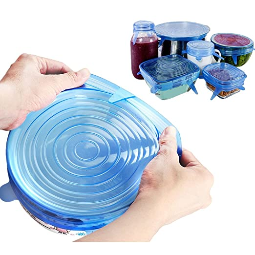 dehnbare Tapa de silicona higiénicas Durable sin BPA ampliable FDA ...
