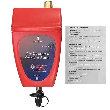 GOZAR Neumática 4.2 Cfm Aire Operado Bombas De Vacío A/C Sistema De Aire Acondicionado
