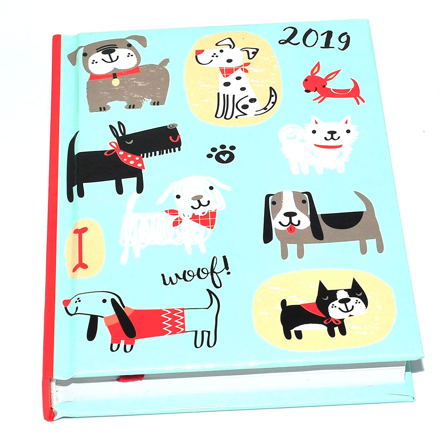 1x 2019 A6 One Day to Page Diary Hardback Cover Design at Random