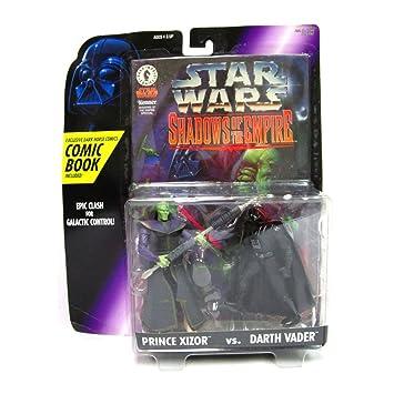 Star Wars Shadows of the Empire Prince Xizor & Darth Vader ...