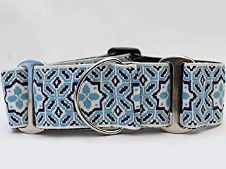 product image for Diva Dog Martingale Dog Collar - Santorini by The Sea