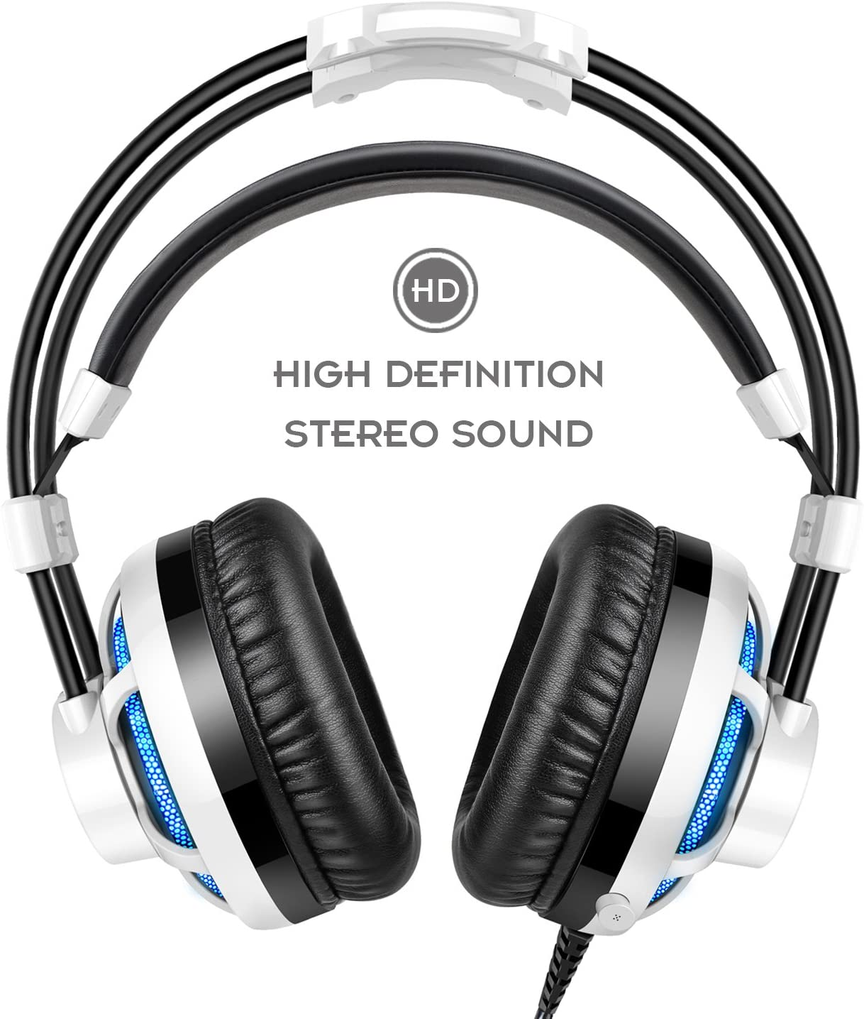 Honstek G6 Stereo Gaming Headset, 3.5mm LED Over Ear: Amazon