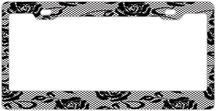 Wind gt License Plate Frame Designed Decorative Metal Car License Plate Auto Tag 12 x 6 inch-Made of Aluminum