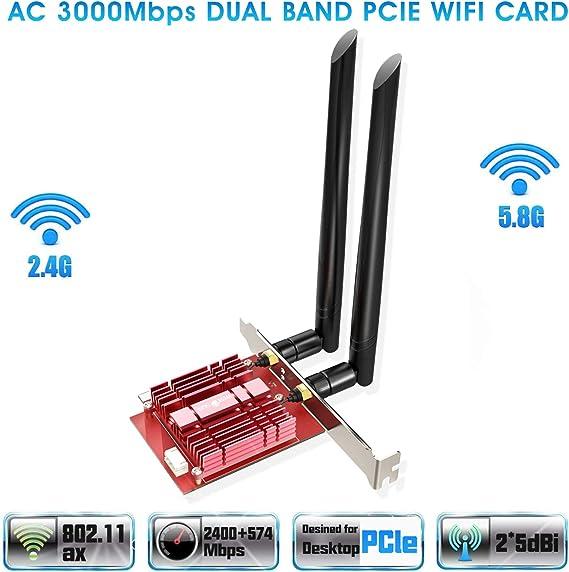 3PCS WiFi Router SMA Drahtlose Netzwerkkarte Externe Antenne OKBY Verst/ärkungsantenne