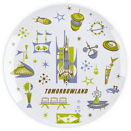 Tomorrowland Plate - 8'' | Dinnerware | Disney Store
