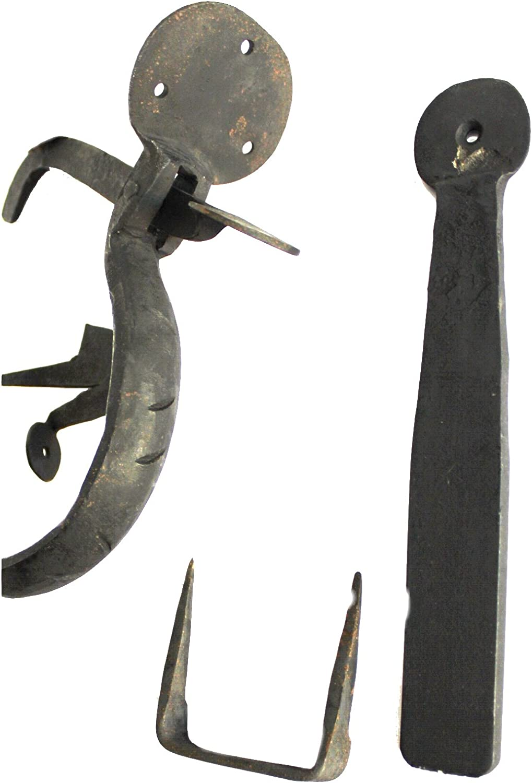 Wrought Iron Norfolk Thumb Latch Set Hand Made Door Hardware Restoration