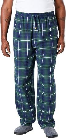 Essentials Mens Big /& Tall Big and Tall Flannel Pajama Pant