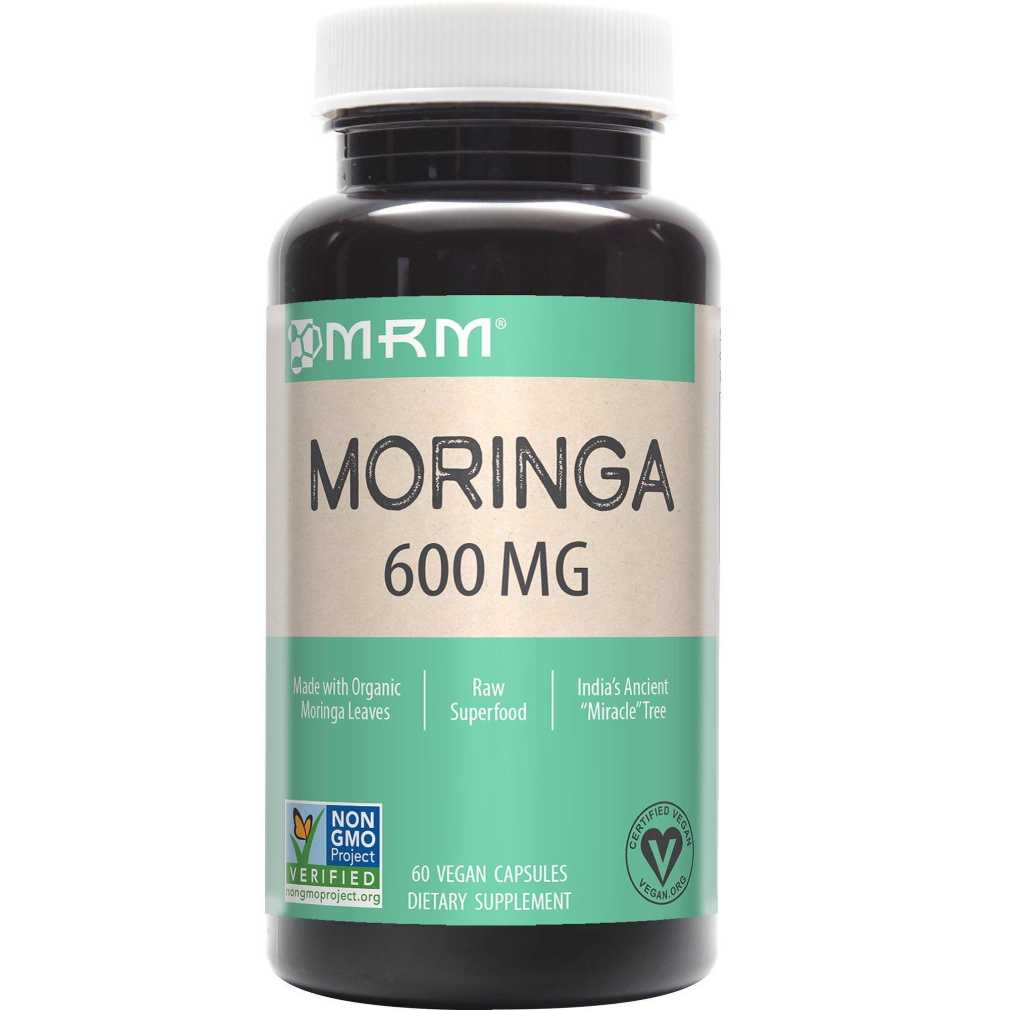 MRM - Moringa Raw Superfood, Non-GMO Verified, Vegan and Gluten-Free (60 Count)