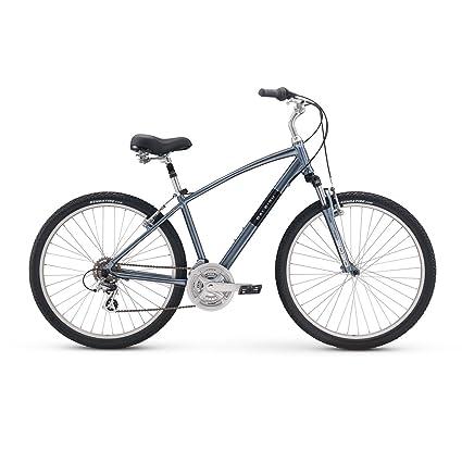 Amazon Com Raleigh Bikes Venture 2 Comfort Hybrid Bike Silver