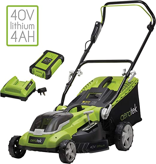 Aerotek 40V X2 Series Lawn Mower - Large and Sturdy