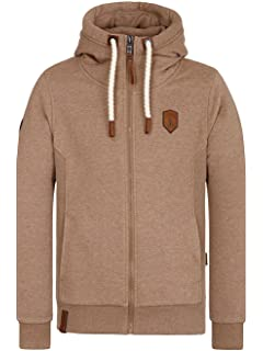 Naketano Herren Kapuzenjacke Fucking For Freedom II Zip