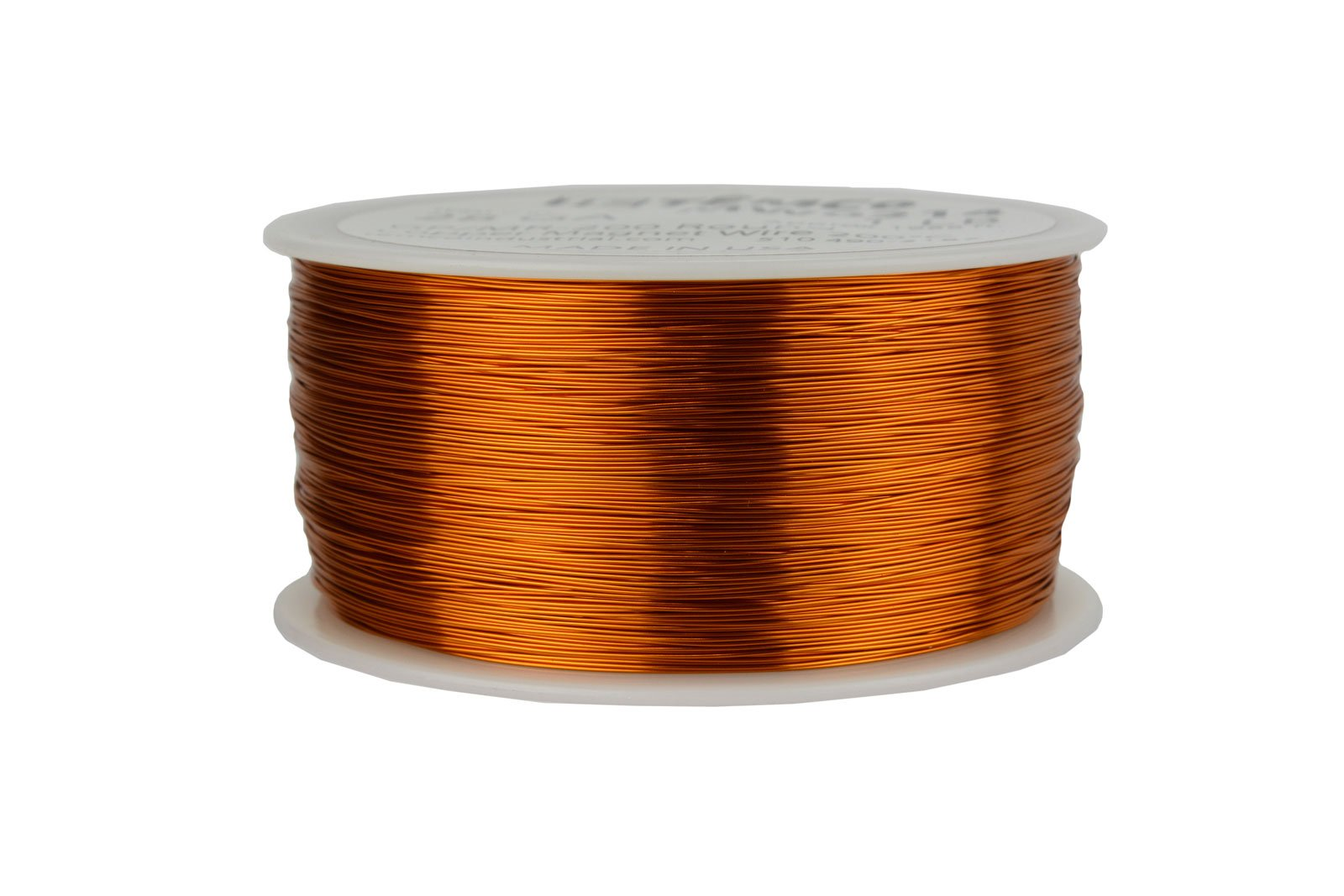 TEMCo 28 AWG Copper Magnet Wire - 1 lb 1988 ft