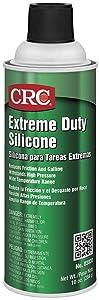 CRC Extreme Duty Silicone Lubricant, 10 oz Aerosol Can, Clear/White