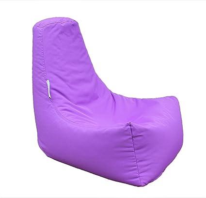 Peachy Hh Home Hut Kids Bean Bag Chair Gaming Chair Beanbag Indoor Outdoor Garden Big Arm Chair Purple Machost Co Dining Chair Design Ideas Machostcouk