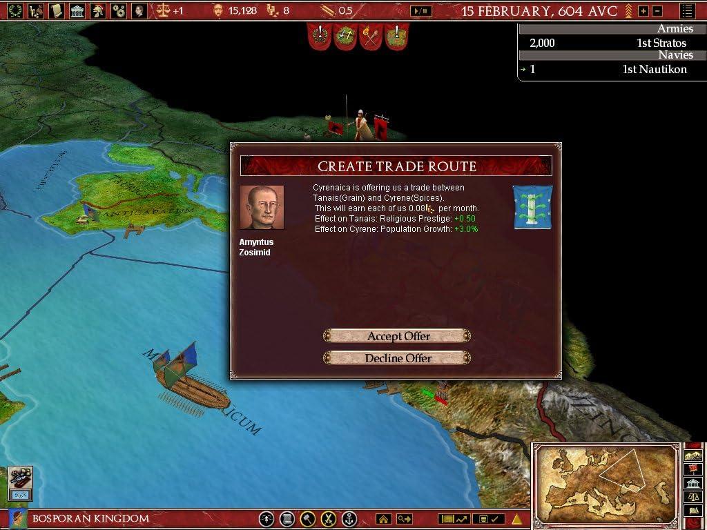 Amazon com: Europa Universalis Rome Gold [Download]: Video Games