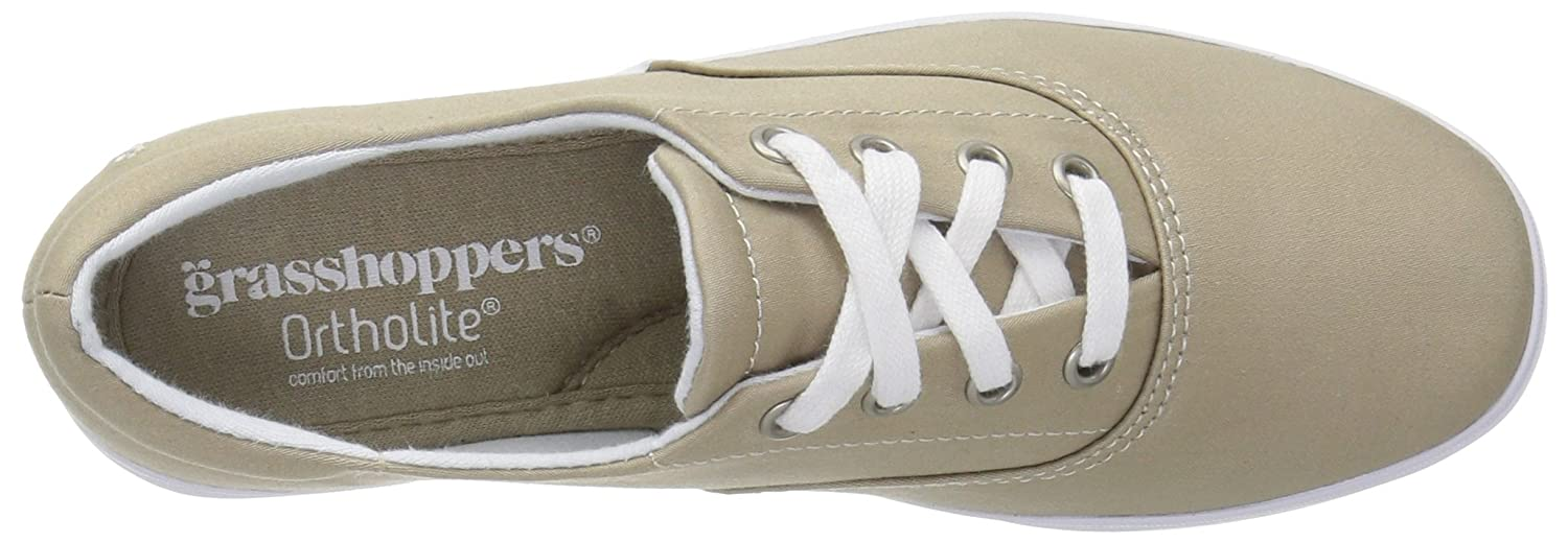 Grasshoppers Women's Janey Ii Fashion Sneaker B01K59CBPC 6.5 B(M) US|Stone