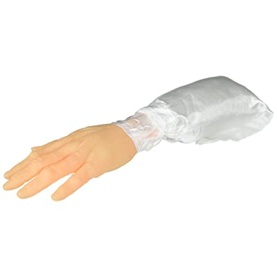 Joker Surprising Realistic Severed Arm Decoration Prop, White: Toys & Games