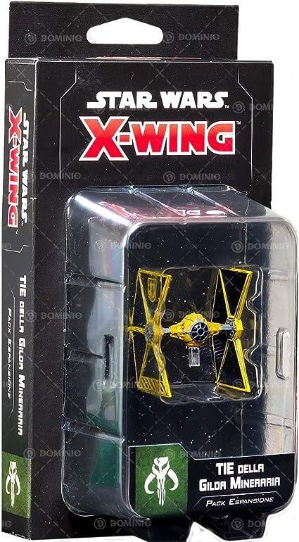 Asmodee Colore 9942 Star Wars X-Wing Tie della Gilda Mineraria