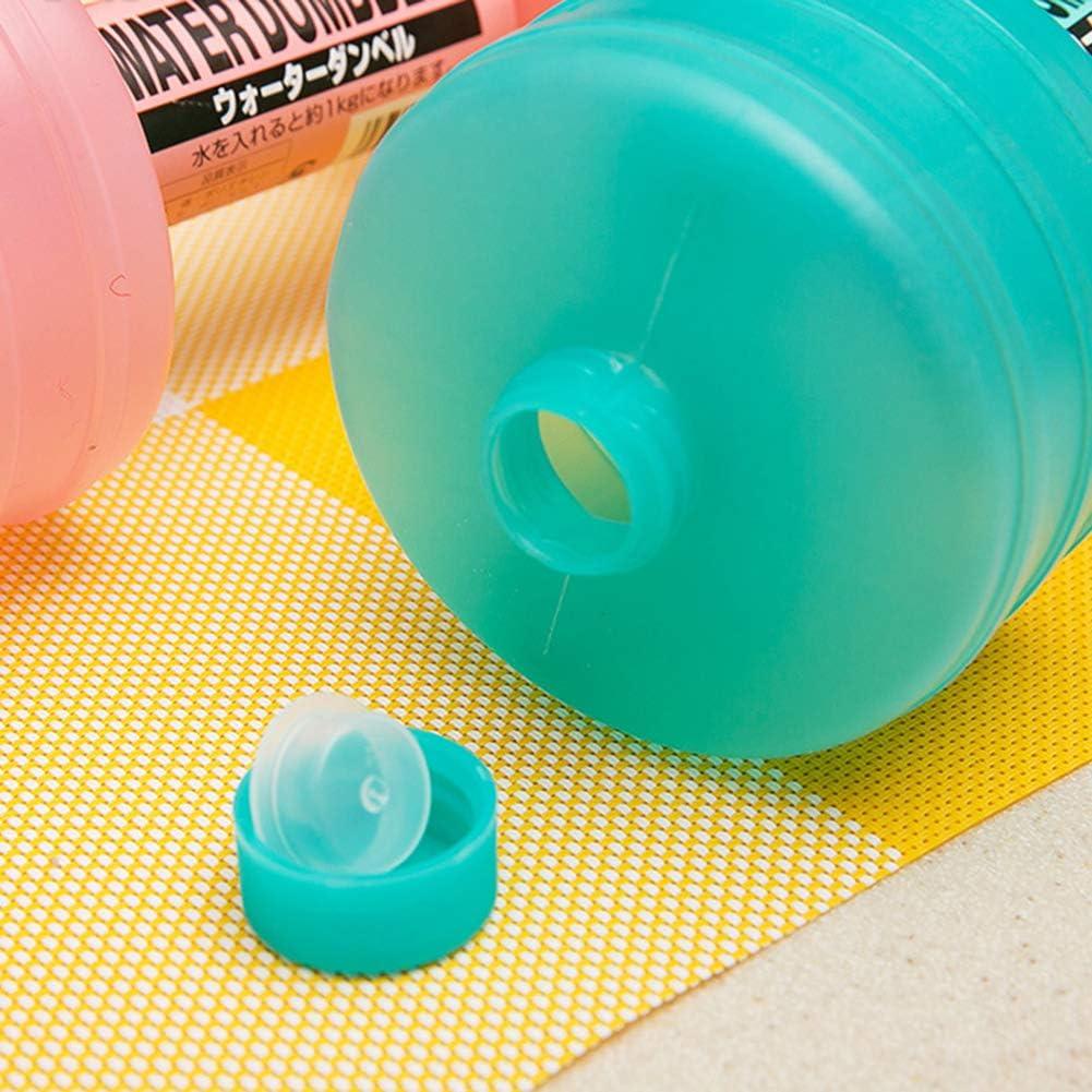 LeeBoom Dumbbells 1PCS Wassergef/üllte Hantel Einstellbare Watered Dumbbells Handgewicht Fitnessger/äte f/ür Frauen