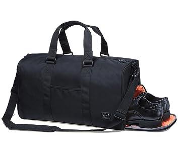 Sporttasche Gym Bag Tasche Herren Damen Reisetasche Dufflebag Kaukko stilvolle Fitness Tasche Weekend Reisetasche mit Separaten Schuhfach für Reisen