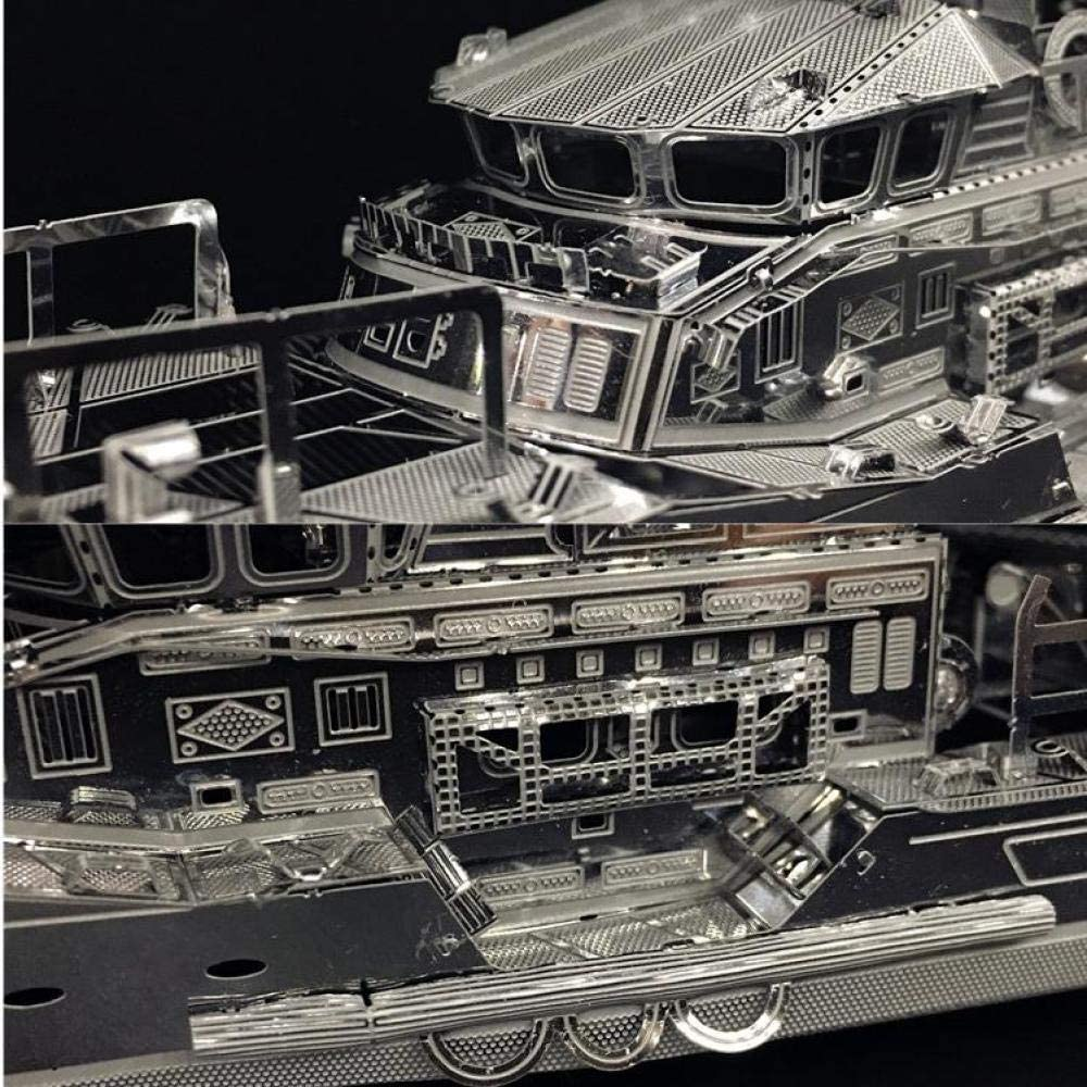 MQKZ Bote Salvavidas Modelo 3D Rompecabezas de Metal para Adultos ...