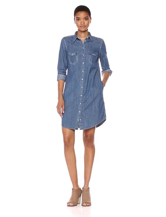 a3871a33e74 Levi s Women s Western Dress at Amazon Women s Clothing store