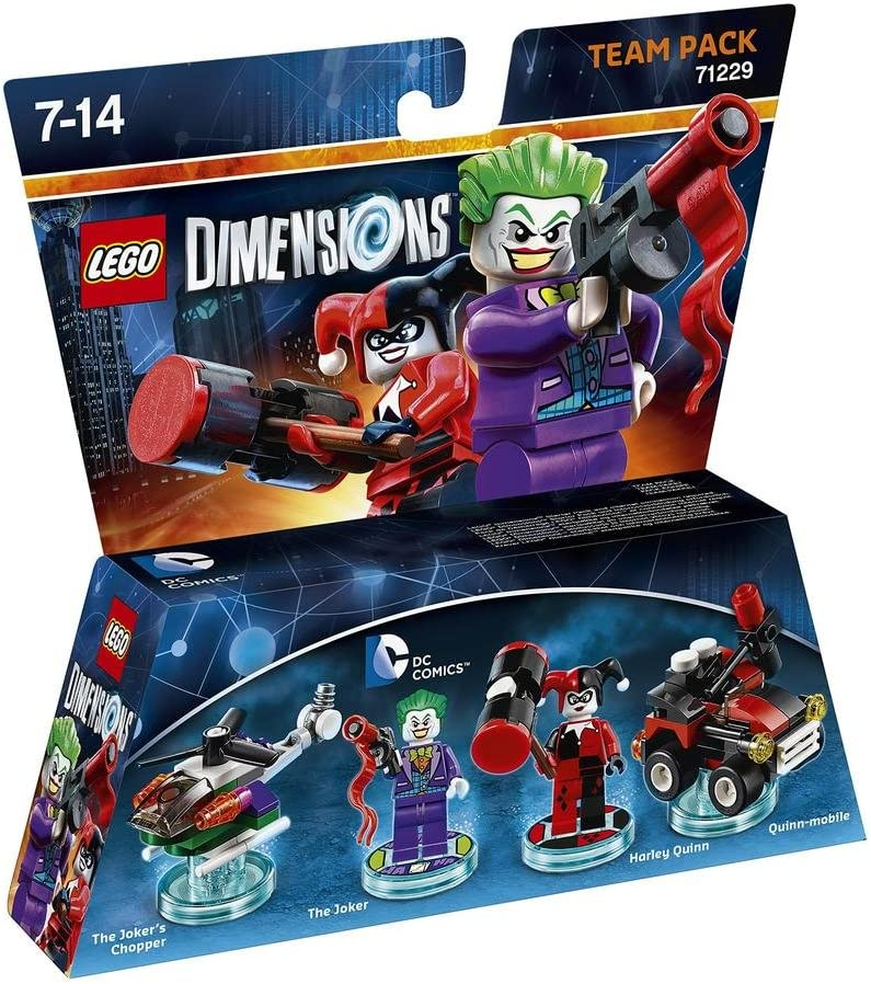Warner Bros Interactive Spain Lego Dimensions - DC Comics, The Joker & Harley Quinn: V Ld Dc Comics Tp W/Joker & Harley: Amazon.es: Videojuegos