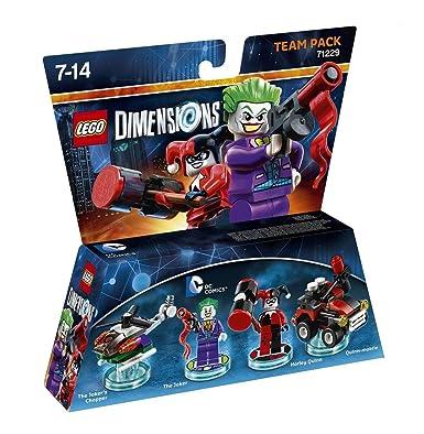 LEGO Dimensions: Team Pack DC Joker/Harley: V Ld Dc Comics Tp W ...