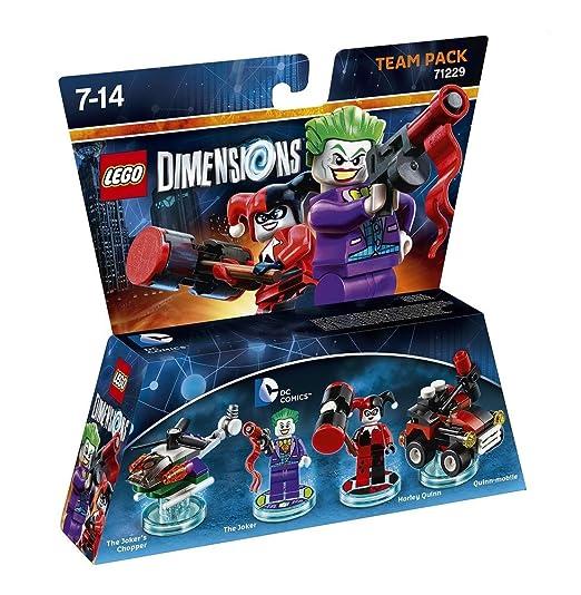44 opinioni per Warner Bros Lego Dimensions Team Pack- DC: Joker & Harley