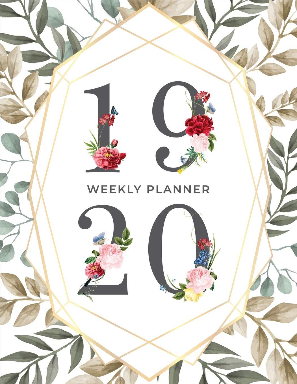 Csn Calendar 2020 2019 2020 Weekly Planner: 365 Days Planner And Organizer Calendar